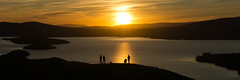Sunset from Conic Hill (OsamaSaeedScot) Tags: conichill
