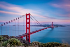 The best moment is almost surely sunrise and sunset. And the toll of the Golden Gate Bridge is really expensive. (moiraphael1) Tags: sausalito california  us