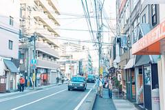 Japan Street (Hin Ho) Tags: japan landscape streetphotography fukuoka tenjin a7ii