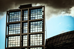 Storm is coming (mr_kuchen) Tags: sky building berlin architecture clouds dark nikon d5100