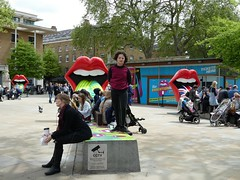 The Rolling Stones: Exhibitionism @ Saatchi Gallery, London 14/5/2016 (stillunusual) Tags: uk travel portrait england urban london tongue logo candid citylife streetphotography streetlife streetscene exhibition exhibitionism candids rollingstones therollingstones humannature saatchigallery urbanscenery 2016 travelphotography ldn realpeople travelphoto rollingstoneslogo urbanpeople humanbehaviour peoplepictures peopleinthestreet travelphotograph londonstreetphotography candidstreetphotography candidstreetportraiture tongueandlipslogo