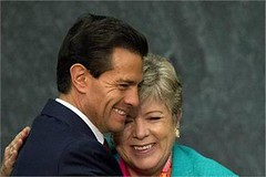 Mexico City: Mexican President Enrique Pena Nieto hugs ECLAC Executive Secretary Alicia Barcena during the opening ceremony for the Economic Commission for Latin America and Caribbean (legend_news) Tags: city america mexico during for alicia president ceremony mexican nieto latin opening caribbean hugs pena enrique secretary economic executive commission barcena eclac