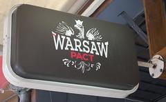 The Warsaw Pact... (adamfrunski) Tags: sign sofia bulgaria