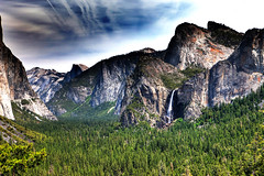"""Tunnel View"", made famous by Ansel Adams,  Yosemite National Park, California, USA (klauslang99) Tags: california park usa nature national yosemite northamerica naturalworld"