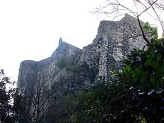 Murailles (Scratina) Tags: ruines ardche chateaufort albalaromaine villagespittoresques