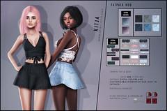 KITJA - Yasmin Outfit Flickr (ᴋɪᴛᴊᴀ) Tags: fashion secondlife maitreya slink meshbody kitja fittedmesh slinkphysique maitreyalara slinkhourglass