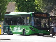SN16 OOW (26044) (brendan315) Tags: park new bus green ride 200 pr 16 winchester brand mmc reg stagecoach parkandride enviro enviro200mmc e200mmc 16reg