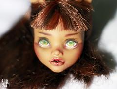 Clawdeen_Wolf (smileidiote1) Tags: monster doll ooak mattel ooakdoll dollsale dollcustom clawdeen dollooak monsterhigh clawdeenwolf monsterhighrepaint monsterhighooak ooakmonsterhigh mattelrepaint monsterhighsale