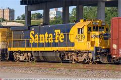 BNSF4219GB_KansasCityMO_190506 (Catcliffe Demon) Tags: usa santafe missouri bb ge railways bnsf generalelectric railroading atsf warbonnet burlingtonnorthernsantafe rosters atchisontopekasantafe b237 usatrip5may2006