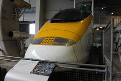 Channel Tunnel-Eurostar Mock-Up 17-06-2016 NRM (routemaster2217) Tags: york eurostar nrm nationalrailwaymuseum channeltunnel