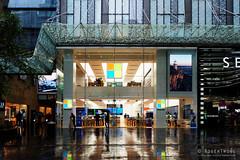 20160605-07-Pitt Street Mall in rain (Roger T Wong) Tags: city reflection rain reflections sydney australia newsouthwales cbd 2016 pittstreet sony2470 rogertwong sel2470z sonyfe2470mmf4zaosscarlzeissvariotessart sonya7ii sonyilce7m2 sonyalpha7ii