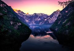 tranquility (C.Kaiser) Tags: de bayern deutschland hdr steinernesmeer carlzeiss knigssee stbartholom nationalparkberchtesgaden schnfeldspitze schnauamknigssee e24mmf18