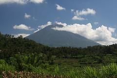 Mt Agung from Tegallinggah (Timmok) Tags: bali mount agung teggalinggah