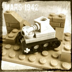 British Forces (andhe :-)) Tags: microscale tank ww2 lego