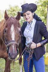 DSC_0054 (a_conic) Tags: people horse black girl beauty fashion animal sport dark 50mm nikon photoshoot riding halter outdor horsehalter