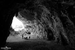 The rock climbing temple (Francesco8723) Tags: people italy rock canon outdoors photography climbing cave fotografia rockclimbing grotta sperlonga arrampicata 5dmarkiii livingtheoutdoors