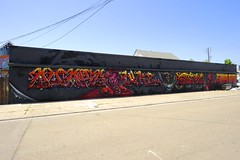 QUAKE, LUKE, GRIFFIN ONE, PASTIME, ERNEST DOTY, SWORNE (STILSAYN) Tags: ca one graffiti oakland bay luke east area quake ernest griffin doty pastime 2016 sworne