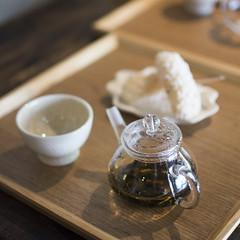Ajisai-cha  (Patrick Vierthaler) Tags: house kyoto tea korean  oike sanjo   karasuma         somushi kochaya