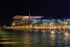 SNFCC at night (SiV-Athens) Tags: city urban building architecture opera library culture athens nightscene renzopiano          snfcc