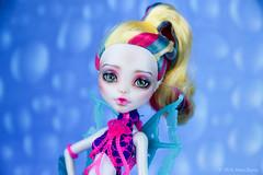 OOAK repaint of MonsterHigh Lagoona Blue (AnnaZu) Tags: blue monster high doll ooak makeup bjd mermaid repaint lagoona faceup monsterhigh faceupartist annaku vesnushkahandmade annazu