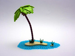 Lonely Palm (cmaddison) Tags: ocean tree landscape toy island lego palm tropical