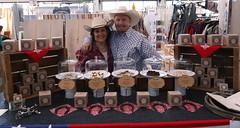 Cowboy Toffee Company (beppesabatini) Tags: california richmond bayarea artsandcrafts kpfa craftsfair artsfair cranewaypavilion 941kpfa 2ndannualkpfasummerartsfair2016 kpfasummerartsfair