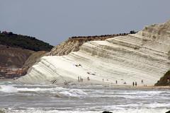 Scala_dei_Turchi_4914 (Manohar_Auroville) Tags: girls sea italy white beach beauty seaside rocks perspectives special scala sicily luigi dei agrigento fedele turchi scaladeiturchi manohar