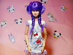I just want to be me ( Psycho ) Tags: neropsych 2016 barbie kawaii doll pink cute la girl