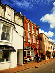 Ilfracombe, North Devon (photphobia) Tags: ilfracombe northdevon uk seaside victorian victorianresort holiday sky oldwivestale outdoor perspective vanishingpoint road buildings building buildingsarebeautiful architecture houses shops hotel victorianterrace