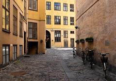 Copenhagen Back Street (bjorbrei) Tags: backstreet backyard courtyard oldbuildings oldtown copenhagen denmark