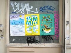 summer shows (kendradrischler) Tags: paris summer posters publicity street graffiti