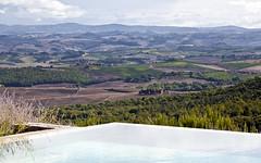 Rosewood Castiglione del Bosco Villa Chiusa Pool View (5StarAlliance) Tags: castigliondelbosco rosewoodcastigliondelbosco luxuryhotels vineyardhotels siena italy fivestaralliance 5star