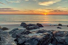 Sun Up (aka Buddy) Tags: 2016 summer sunrise beach atlantic ocean sky clouds monmouthbeach nj og hdr