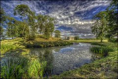 Lyveden New Bield, Northamptonshire 3 (Darwinsgift) Tags: lyveden new bield northamptonshire national trust hdr photomatix nikkor 14mm f28 d nikon d810 landscape ngc