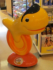 PEPPERIDGE FARM GOLDFISH..... (Daisy.Sue) Tags: spring2015 pepperidgefarmgoldfish bakedsnackcrackers storedisplay yelloworangeblackwhite bigy supermarket fairfieldcounty bethelct fun