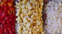 Ingredients (pedrik) Tags: food phonecam pepper gimp potato onion sgb retinex htconex 1053652015