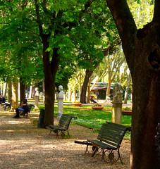Un angolo di Paradiso (sole e tempesta) Tags: parco roma verde alberi relax natura riposo giardini silenzio panchine aperto tranquillit ariapura