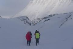 Way down (flurryofsmoke) Tags: snow ice norway svalbard arctic spitsbergen longyearbyen longyearbreen