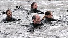 Mud bath (Arndted) Tags: swim göteborg nikon mud sweden gothenburg sigma sverige obstacle obstaclecourse mudbath slottskogen ex100300f4 d300s toughviking toughviking2015 toughvikinggöteborg toughvikinggöteborg2015