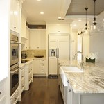 Kitchen Pass through Serving area : Designed by: JT Majestic Custom Woodworks  Decor provided by others