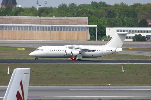 WDL Aviation BAe 146-300 D-AWBA @TXL/EDDT airport