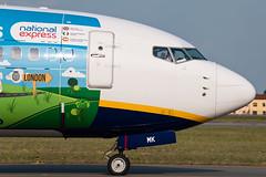 EI-EMK (MikeAlphaTango) Tags: airplane torino airport aircraft aviation ryanair turin runway aereo avion 737 b737 aeronautica trn limf