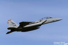 USAF McDonnell Douglas F-15D Eagle - 85-0132 (Caspar Smit) Tags: oregon nikon fighter eagle aircraft aviation jet ang airforce usaf leeuwarden f15 mcdonnelldouglas frisianflag redhawks 142fw 123fs d7000 ehlw 850132 atlanticresolve
