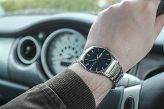Ten to Two (gothick_matt) Tags: car denmark driving watch mini minicooper product skagen productphotography