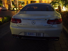 Mercedes S63 4matic at the Palm.