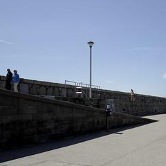 celebrating the shadows! (Wendy:) Tags: shadow pier walk sunday shift sunny tilt odc dunlaoghaire
