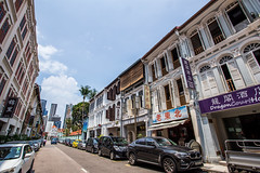IMG_0254 (jack_the_rabbits) Tags: street city sky building canon vintage landscape singapore chinatown wideangle stores 1740 6d
