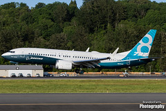 N8704Q Boeing 737-8 MAX (Brandon Farris Photography) Tags: max southwest airline luv boeing airlines 737 southwestairlines boeingfield wn swa bfi 738 kbfi 7378 southwestair boeingcompany kingcountyairport boeing738 boe104 737max boeing7378max 7378max maxft boeingmax 738max n8704q 1a004 boeing104