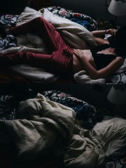 Day 48 (natalia.rw) Tags: light portrait fashion composition bed bedroom challenge classy chasinglight