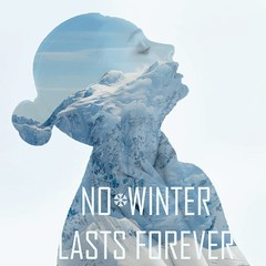 No Winter Lasts Forever (Allen Snow) Tags: winter white snow art beautiful female phtoshop